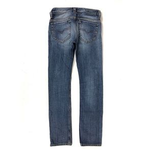DIESEL THANAZ Men's Slim-Skinny distressed JEANS